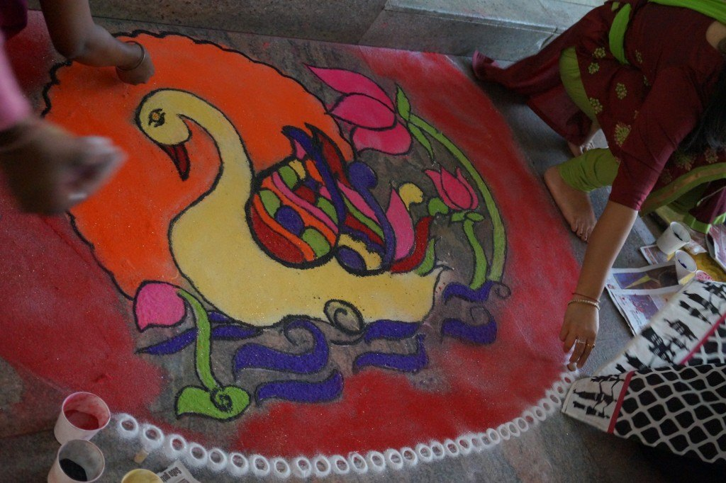 n-gage messenger Rangoli competition