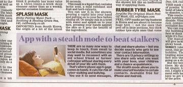 Daily Mail 5th May 2016