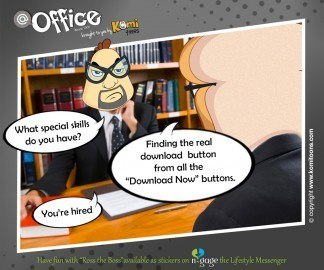 @office KomiToons - n-gage chat messenger