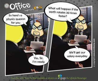 @office KomiToon - n-gage chat messenger