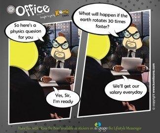 @office KomiToon - n-gage chat messenger
