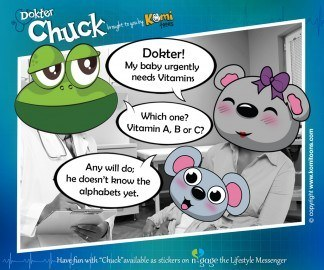 Dokter Chuck KomiToons - n-gage chat messenger