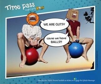 Time Pass KomiToons - n-gage chat messenger
